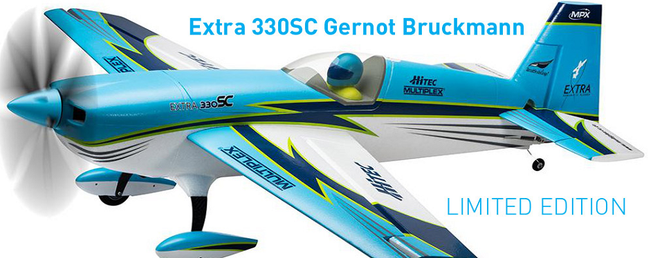 Extra 330SC Gernot Bruckmann Limited-Edition by Hobby-Shop RC-Mo