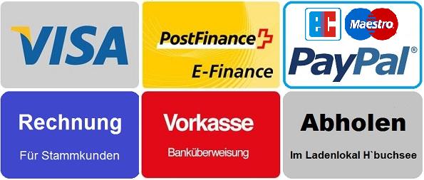Visa, post, paypal, Rechnung, Eurocard