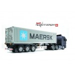Tamiya 56326 40-Foot Container Semi-Trailer Maersk