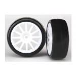 Traxxas 7572 T&W, ass.glued 12-spoke white (2)