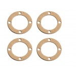 Associated 89143 Diff Gasket, thick, 0.8 mm  AE89143