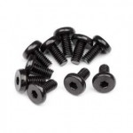HPI Racing 101390 Binder Cap Head Screw M4x8mm (10 pcs)