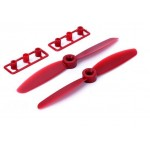 HRC34A5030R Racing Prop 3-blades 4040 1 CW + 1 CCW Red