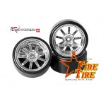 HRC61040 Fire Tire Funkenreifen Drift (4pcs)