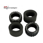 Traxxas 5370 Tires, Talon 3.8 with Foam Inserts
